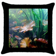 Marine Life Throw Pillow Cases (black) by trendistuff