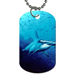 Hammerhead Dog Tag (two Sides) by trendistuff