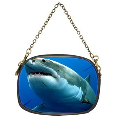 GREAT WHITE SHARK 3 Chain Purses (Two Sides)  by trendistuff