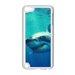 Great White Shark 1 Apple Ipod Touch 5 Case (white) by trendistuff