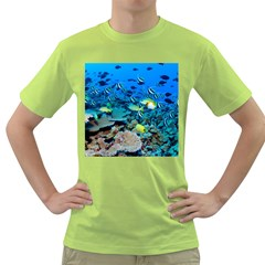 Fr Frigate Shoals Green T Shirt by trendistuff