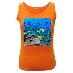 Fr Frigate Shoals Women s Dark Tank Tops by trendistuff