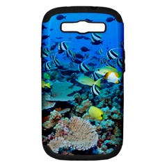 FR FRIGATE SHOALS Samsung Galaxy S III Hardshell Case (PC+Silicone) by trendistuff