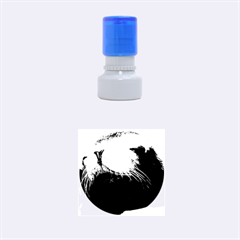 Cute Sea Lion Rubber Round Stamps (small)