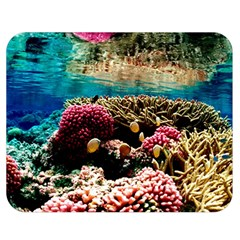 CORAL REEFS 1 Double Sided Flano Blanket (Medium)  by trendistuff