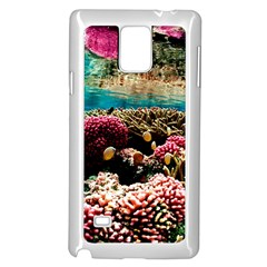 Coral Reefs 1 Samsung Galaxy Note 4 Case (white) by trendistuff