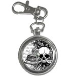 Skull & Books Key Chain Watches
