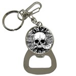 Skull & Books Bottle Opener Key Chains