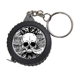 Skull & Books Measuring Tapes