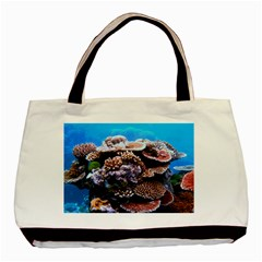 Coral Outcrop 2 Basic Tote Bag  by trendistuff
