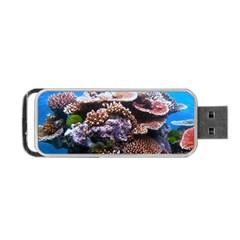 Coral Outcrop 2 Portable Usb Flash (two Sides) by trendistuff