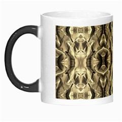 Gold Fabric Pattern Design Morph Mugs by Costasonlineshop