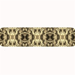 Gold Fabric Pattern Design Large Bar Mats