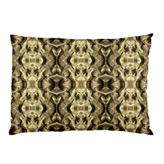 Gold Fabric Pattern Design Pillow Cases by Costasonlineshop