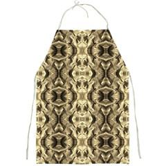 Gold Fabric Pattern Design Full Print Aprons