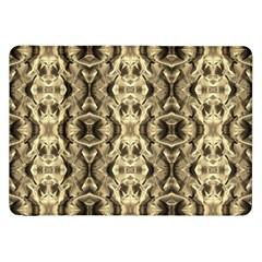 Gold Fabric Pattern Design Samsung Galaxy Tab 8 9  P7300 Flip Case