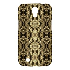 Gold Fabric Pattern Design Samsung Galaxy Mega 6 3  I9200 Hardshell Case by Costasonlineshop