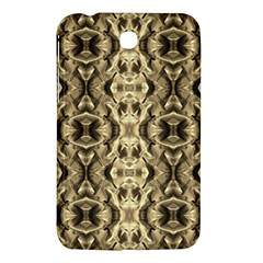 Gold Fabric Pattern Design Samsung Galaxy Tab 3 (7 ) P3200 Hardshell Case