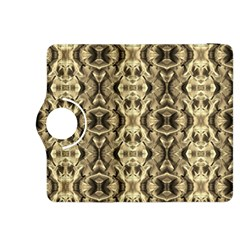 Gold Fabric Pattern Design Kindle Fire HDX 8.9  Flip 360 Case by Costasonlineshop