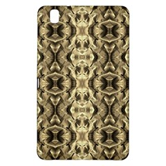 Gold Fabric Pattern Design Samsung Galaxy Tab Pro 8 4 Hardshell Case by Costasonlineshop