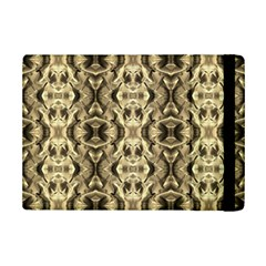 Gold Fabric Pattern Design Ipad Mini 2 Flip Cases
