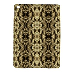 Gold Fabric Pattern Design Ipad Air 2 Hardshell Cases by Costasonlineshop