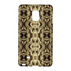 Gold Fabric Pattern Design Galaxy Note Edge by Costasonlineshop