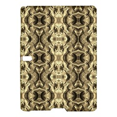 Gold Fabric Pattern Design Samsung Galaxy Tab S (10 5 ) Hardshell Case  by Costasonlineshop