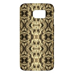 Gold Fabric Pattern Design Galaxy S6