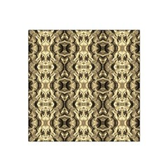 Gold Fabric Pattern Design Satin Bandana Scarf by Costasonlineshop