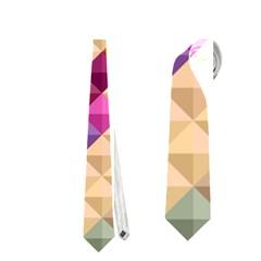 Mosaic & Co 01a  Neckties (two Side)  by MoreColorsinLife