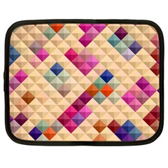 Mosaic & Co 01a  Netbook Case (large) by MoreColorsinLife