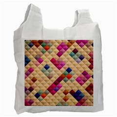 Mosaic & Co 01a  Recycle Bag (one Side) by MoreColorsinLife