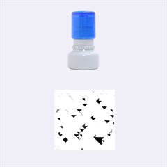 Mosaic & Co 01a  Rubber Round Stamps (small)