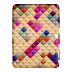 Mosaic & Co 01a  Samsung Galaxy Tab 4 (10 1 ) Hardshell Case  by MoreColorsinLife