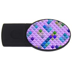 Mosaic & Co 01b USB Flash Drive Oval (1 GB)  by MoreColorsinLife