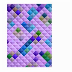 Mosaic & Co 01b Large Garden Flag (two Sides) by MoreColorsinLife