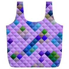 Mosaic & Co 01b Full Print Recycle Bags (l)  by MoreColorsinLife