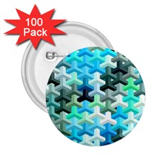 Mosaic & Co 02a 2.25  Buttons (100 pack)  by MoreColorsinLife