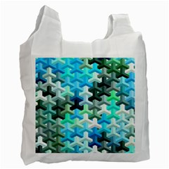 Mosaic & Co 02a Recycle Bag (one Side) by MoreColorsinLife