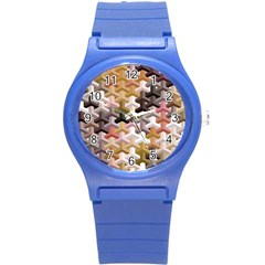Mosaic & Co 02b Round Plastic Sport Watch (s) by MoreColorsinLife