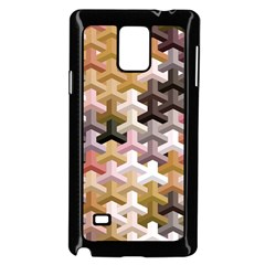 Mosaic & Co 02b Samsung Galaxy Note 4 Case (Black) by MoreColorsinLife