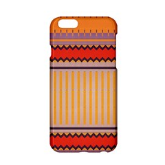 Stripes And Chevrons			apple Iphone 6/6s Hardshell Case by LalyLauraFLM