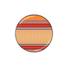 Stripes And Chevrons			hat Clip Ball Marker by LalyLauraFLM