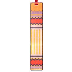 Stripes And Chevrons			large Book Mark by LalyLauraFLM