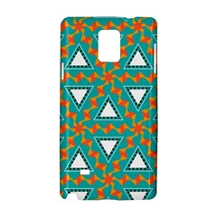 Triangles And Other Shapes Patternsamsung Galaxy Note 4 Hardshell Case by LalyLauraFLM