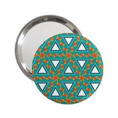 Triangles and other shapes pattern			2.25  Handbag Mirror by LalyLauraFLM