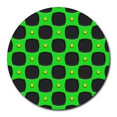 Black Holesround Mousepad by LalyLauraFLM