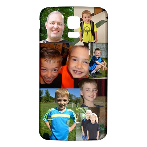 My Boys Case By Jill Carrell   Samsung Galaxy S5 Back Case (white)   Uekrtfi3uxgs   Www Artscow Com Front