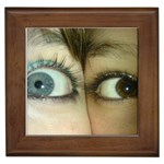 Eyes-620 Framed Tile